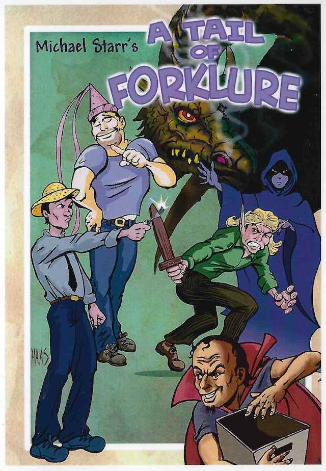 Promotional - A Tail of Forklure - Flyer Art