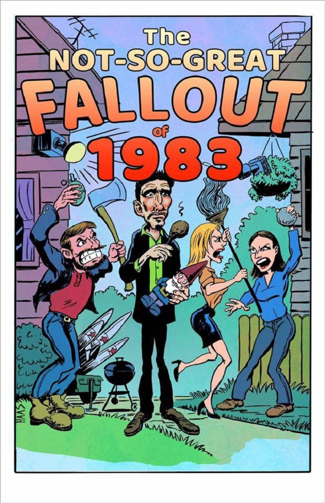 Promotional - The Not so Great Fallout of 1983 - Poster Design
