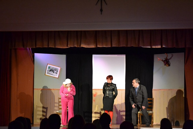 The Fringe Files present The Cook Did It at the Memorial Hall, Wincanton, 3rd November 2012