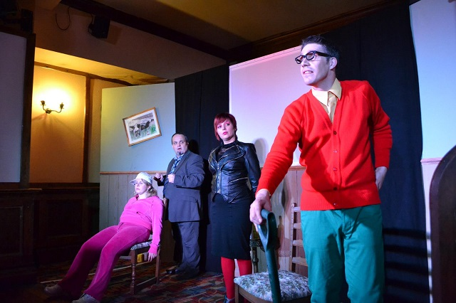 The Fringe Files performing The Cook Did It! at The Drawbridge Bristol on 4 November 2012
