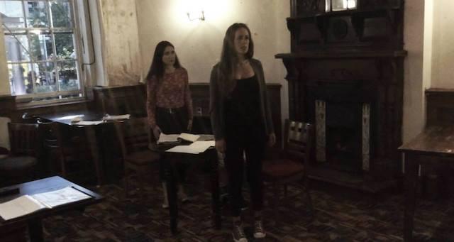 Samantha - Rehearsal - 28 July 2015