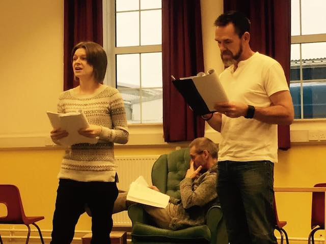 Rehearsal - Christmas Evie the Panto - 27 November 2016