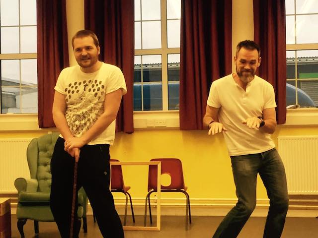 Rehearsal photo for Christmas Evie the Panto dated 27th November 2016