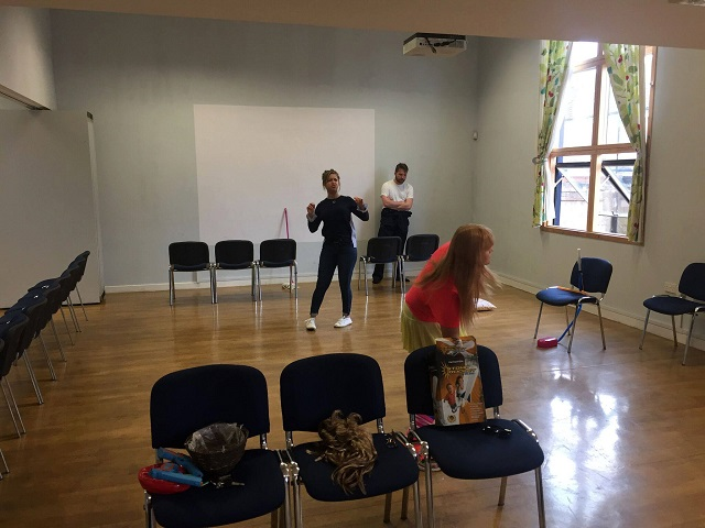 The Not so Great Fallout of 1983 rehearsal 24 September 2017
