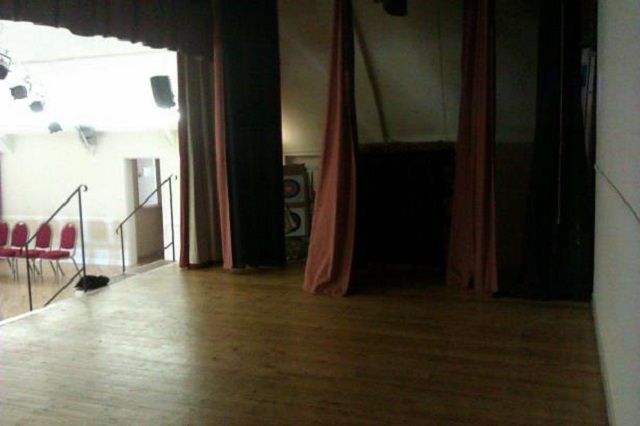 The Fringe Files technical at Wincanton's The Memorial Hall