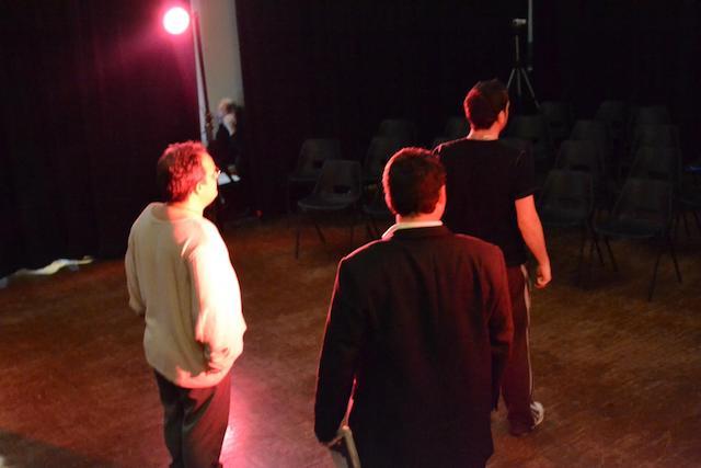 Underline technical rehearsal photo