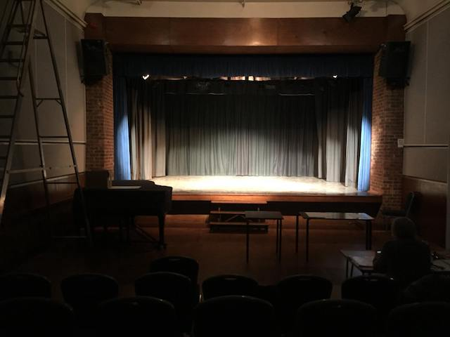 The Not so Great Fallout of 1983 technical for the 2017 Spelthorne and Runnymede Drama Festival